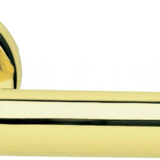 Coppia Di Maniglie Ghidini Modello Cinzia Olv M1 Con Rosette E Bocchet