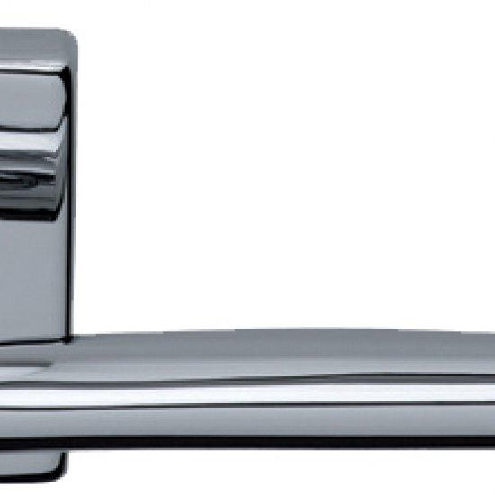 Coppia Di Maniglie Ghidini Modello Easy Ocl M4 Con Rosette E Bocchette