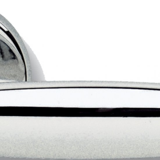 Coppia Di Maniglie Ghidini Modello Epoca Ocl M4 Con Rosette E Bocchett