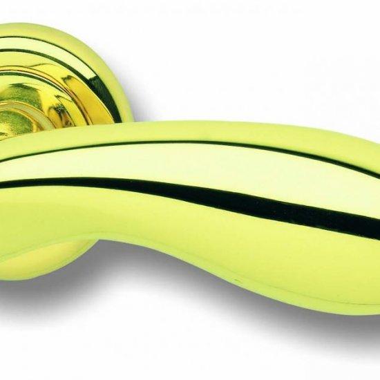 Coppia Di Maniglie Ghidini Modello Golf Olv M1 Con Rosette E Bocchette