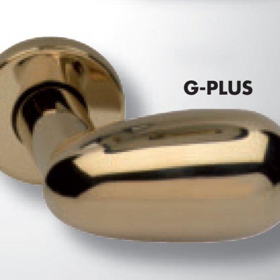 Coppia Di Maniglie Ghidini Modello Pigna G Plus M36 Con Rosette E Bocc