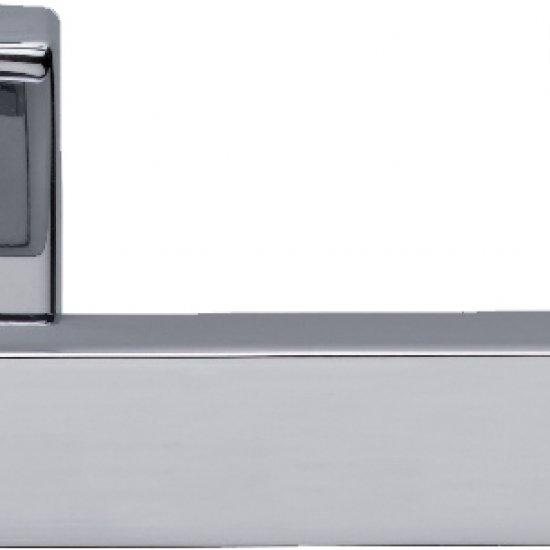 Coppia Di Maniglie Ghidini Modello York Ocl M4 Con Rosette E Bocchette