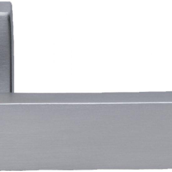 Coppia Di Maniglie Ghidini Modello York Ocs M18 Con Rosette E Bocchett