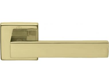 Coppia di Maniglie Ghidini Modello York OLV M1 con Rosette e Bocchette