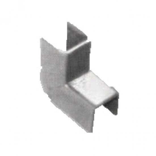 Coprigiunto Per Regolini Fermavetro Savio 10mm Larghezza Acciaio Zinca