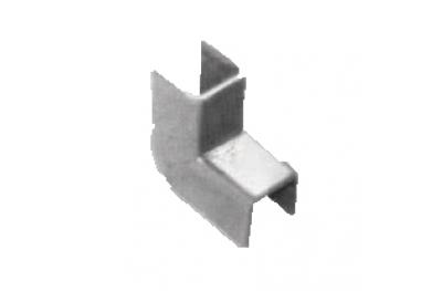 Coprigiunto per Regolini Fermavetro Savio 10mm Larghezza Acciaio Zincato