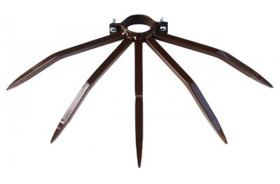 Dissuasore per Tubi Piccoli 48 mm Contro Furti da Risalita