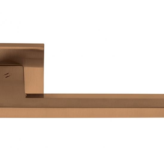 Electra Finitura Vintage Mat Maniglia Per Porta Su Rosetta In Stile Ne