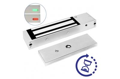 Elettromagnete di Sicurezza con Sensore LED e Timer 13100TD Opera Serie Safety