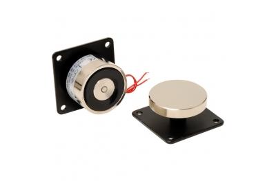 Elettromagnete di Trattenuta 55 Kg Contropiastra Porte Tagliafuoco 01630I Opera