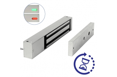 Elettromagnete Mini con Sensore Maxi LED e Timer 13700TDL Opera Serie Safety