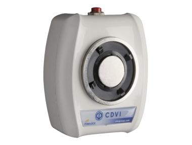 VIRA5024 Elettromagnete 50Kg 24V DC Ferma Porta da Muro Contropiastra Fissa e/o Snodabile + HRV CDVI