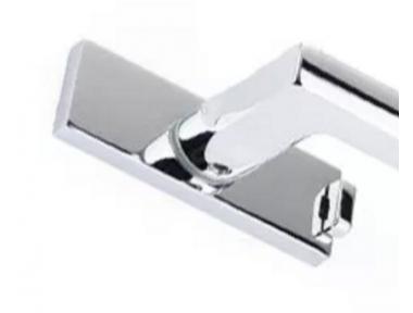 Filo! PFS Pasini Rosetta per Maniglia DK per Finestra Spessore 6mm