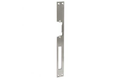 Frontale Lungo Acciaio Inox per Incontro Elettrico Serie Omnia Micro 03031 Opera