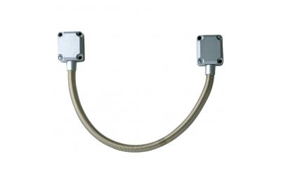 GF45 Passacavo in Metallo 450 mm Per Installazione Su Cancelli e Porte Automatiche CDVI