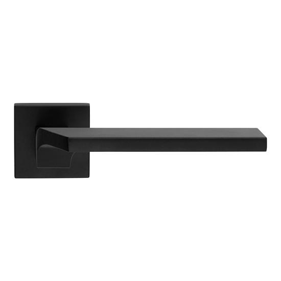 Offerte pazze Comparatore prezzi  Giro Zincral Nero Opaco Maniglia Per Porta Su Rosetta Con Stile Italia  il miglior prezzo