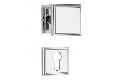 Glamor Pomolo Girevole per Porta con Sistema di Montaggio Ultrarapido Click-Clack Linea Calì Vintage