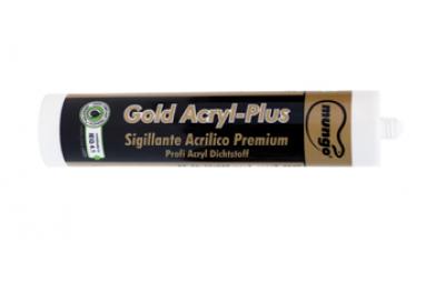 GOLD ACRYL-PLUS 310 ml Sigillante Acrilico Premium Mappato LEED® Mungo