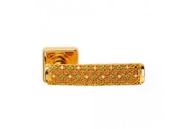Gold Dream 2 Jewellery PFS Pasini Maniglia per Porta con Rosetta e Bocchetta
