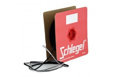 Guarnizione Schlegel Spazzola Polybond 6,9x15mm Senza Pinna Nero Rotolo 100m