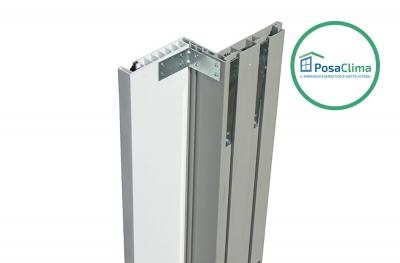 Guida per Avvolgibile PVC Bianco del Controtelaio Klima Pro PosaClima