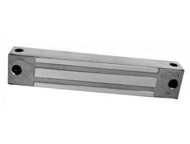 I180SR 180Kg Fermo Elettromagnetico da Applicare in Acciaio Inox 12/24V DC + Reed di Stato CDVI