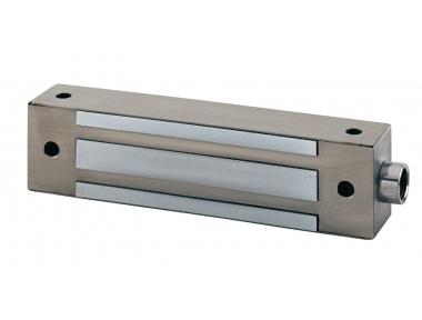 I500SR 500Kg Fermo Elettromagnetico da Applicare in Acciaio Inox 12/24V DC + Reed di Stato CDVI