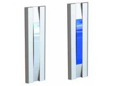 Indicatore Luminoso Bianco Blu per Porte 55030BB Serie Profilo Opera