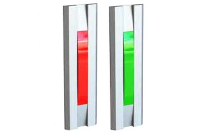 Indicatore Luminoso Rosso Verde per Porte 55030 Serie Profilo Opera