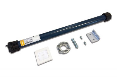 Somfy Kit Motore Tapparella Finestra Piccola Tubolare Filare Radio RTS MRR 1000 10 Nm