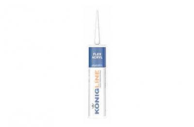 Konigline Flex Acryl Silicone per Evitare Crepe su Porte e Finestre