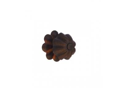 Maniglia Pomolo per Mobili Galbusera 042/R in Ferro Battuto d'Arte