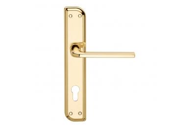 Milly Serie Basic forme Maniglia per Porta su Placca Irregolare Frosio Bortolo Design Moderno