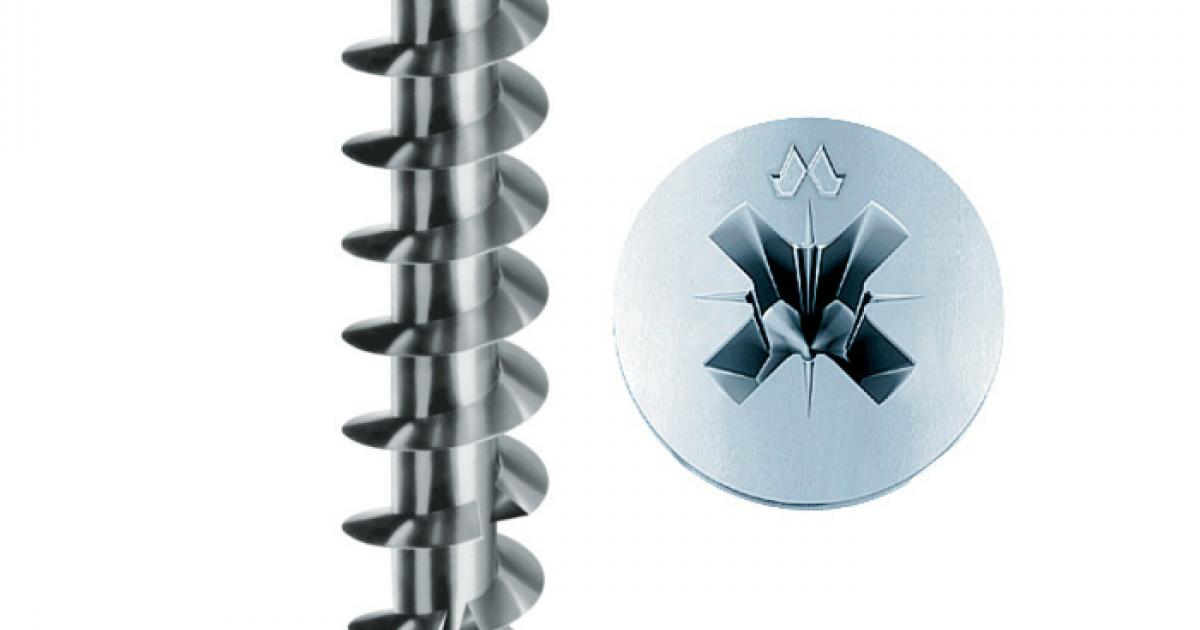Viti per Legno Testa Cava CR Bronzate Panelvit  4 x 30 mm confezione 500 pz