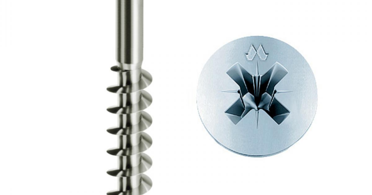 Viti per Legno Testa Cava CR Bronzate Panelvit 4 x 35 mm confezione 500 pz