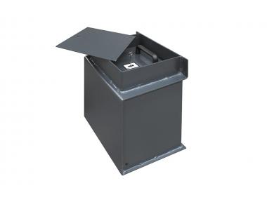 P/01 Bordogna Cassaforte a Pavimento Progettata per Aziende e Negozi