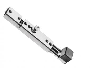 Paletto Chiavistello Cilindro Sicurezza Sbarrare per Infissi Corsa 54mm Savio