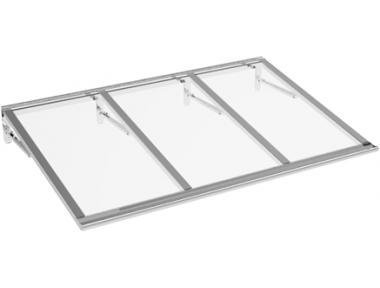 Pensilina Lira Alluminio Trasparente in Alluminio AMA Protezioni Solari