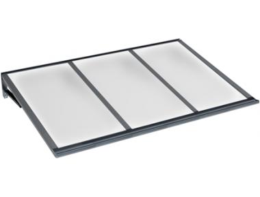 Pensilina Lira Grigio Opalino in Alluminio AMA Protezioni Solari