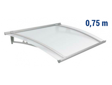 Pensilina Newstyle NS-01 Copertura Satinato Sporgenza 0,75m Royal Pat Newentry
