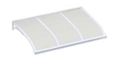 Pensilina Vela Bianco Opalino in Alluminio AMA Protezioni Solari