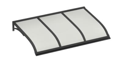 Pensilina Vela Grigio Opalino in Alluminio AMA Protezioni Solari
