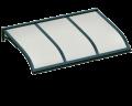 Pensilina Vela Verde Opalino in Alluminio AMA Protezioni Solari