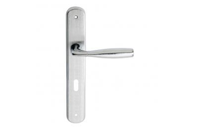 Philip 2 Serie Basic forme Maniglia per Porta su Placca Regolare Frosio Bortolo Forma Ergonomica