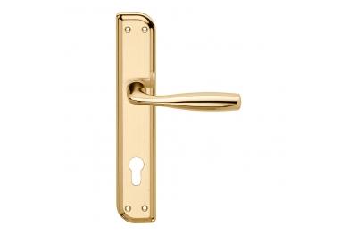 Philip Serie Basic forme Maniglia per Porta su Placca Irregolare Frosio Bortolo Elegante