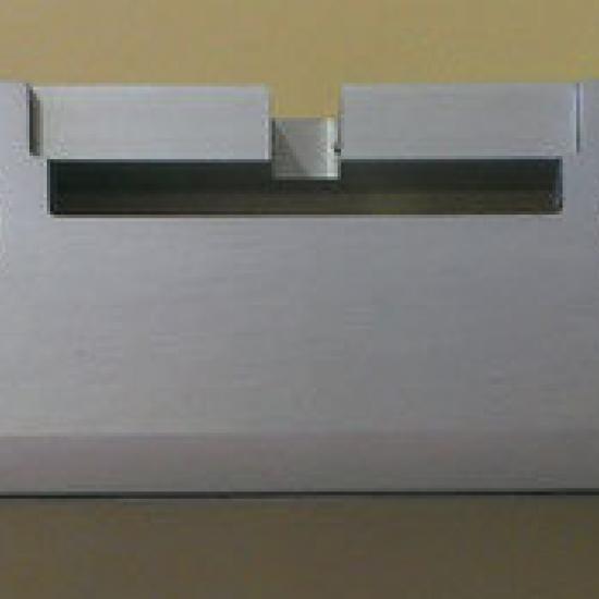 Pinza Vetro Per Vetro Non Forato In Alluminio Pettiti Giuseppe