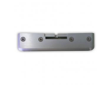 Pinza per Vetro non Forato in Alluminio Pettiti Giuseppe