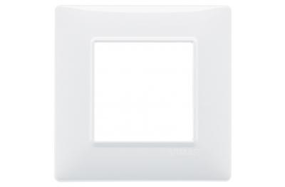 Placca 2 Moduli Plana Vimar 14642 80x80x9 mm Vari Colori