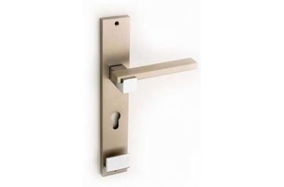 Plus Line Brass Maniglia per Porta su Placca Fashion Line PFS Pasini