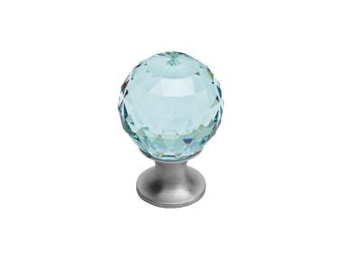 Pomolo Mobile Linea Calì Crystal CS con Swarowski® Verde Antico